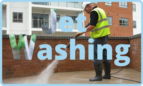 Clean and Sweep provides jet washing sercices in Brighton