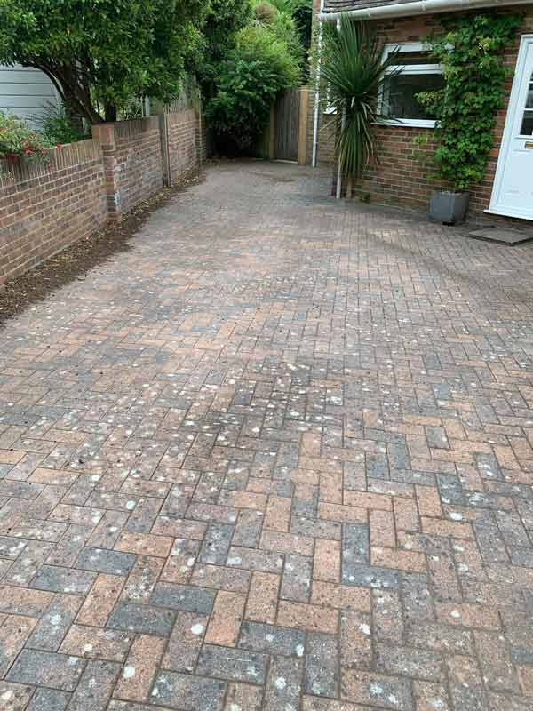 jet washing before Clean and sweep - Chimney sweep based in Brighton/Saltdean