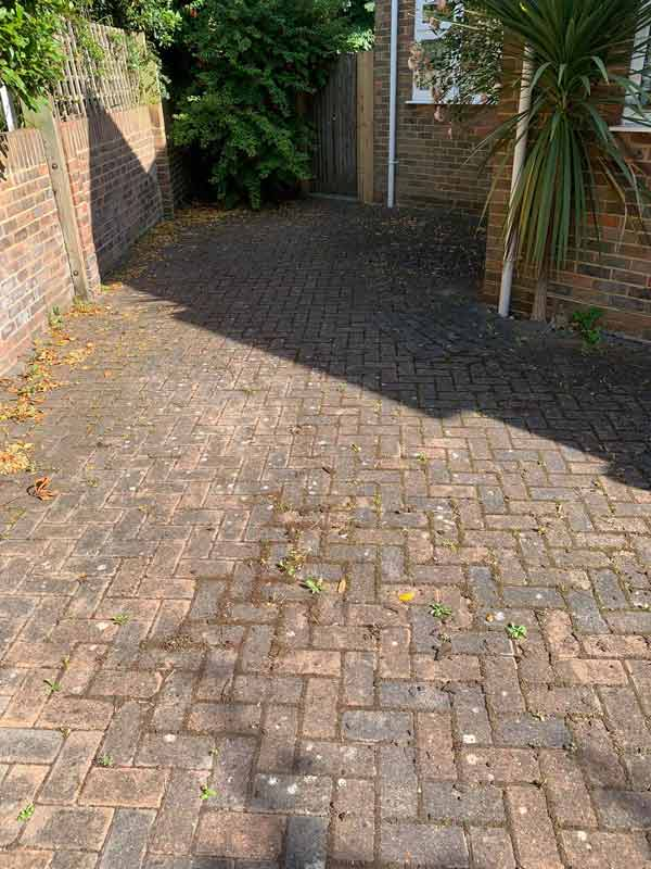 jet washing before1 Clean and sweep - Chimney sweep based in Brighton/Saltdean