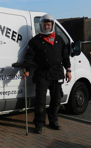 Brighton chimney sweep Mark Styles