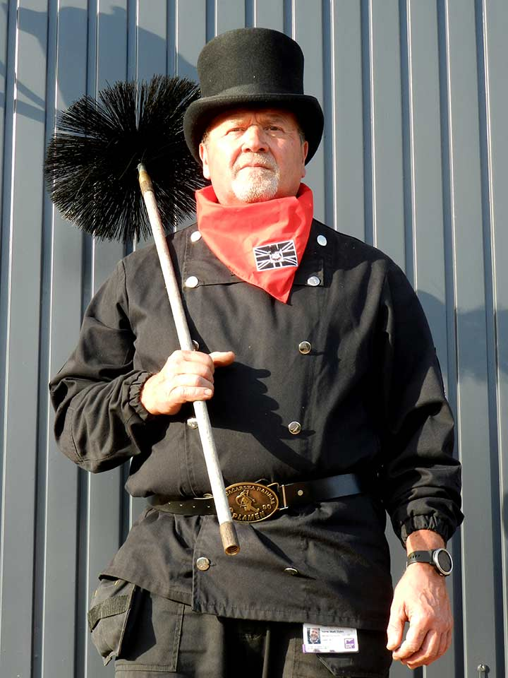 clean and sweep - the chimney sweep you can trust.