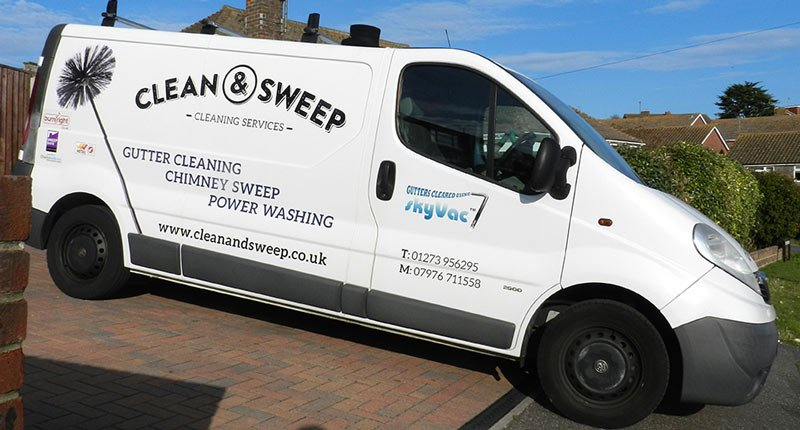 clean and sweep chimney sweep Brighton