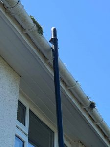 Gutter Cleaning close up Clean and sweep - Chimney sweep based in Brighton/Saltdean