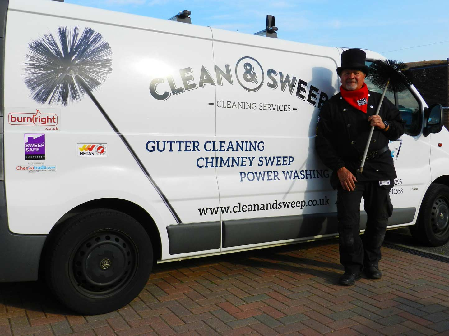 chimney sweeping Clean and sweep - Chimney sweep based in Brighton/Saltdean